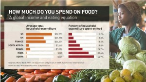 How much do you spend on food