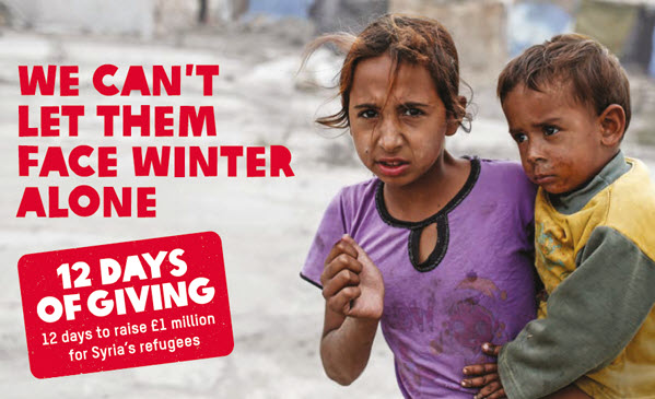 Syria Chrismas appeal