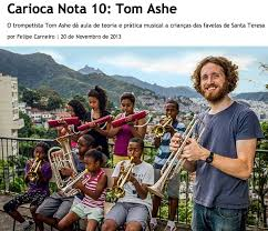 Tom Ashe and the Favela Brass project